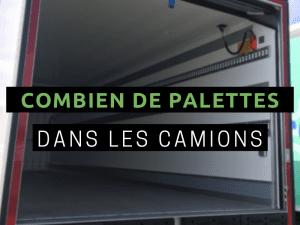 NOMBRE DE PALETTES DANS UN CAMION